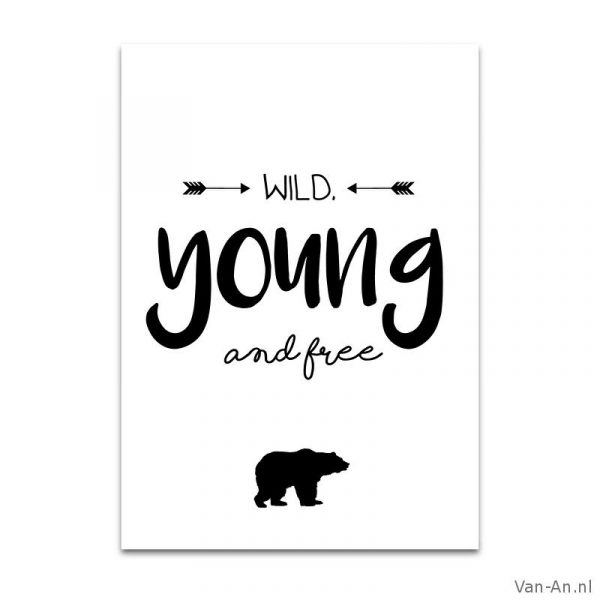 wild young and free 1 50 wild young and free 5 op voorraad in ...: https://www.van-an.nl/winkel/kaarten/wild-young-and-free